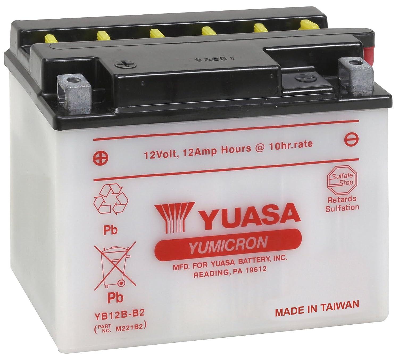 Yuasa yuam221b2 yb12b-b2バッテリー YB12B-B2 YUAM221B2 B000WK28EO