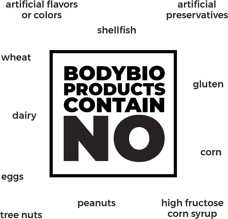 Amazon.com: bodybio – Carbonato de Magnesio, 135 mg, 100 ...