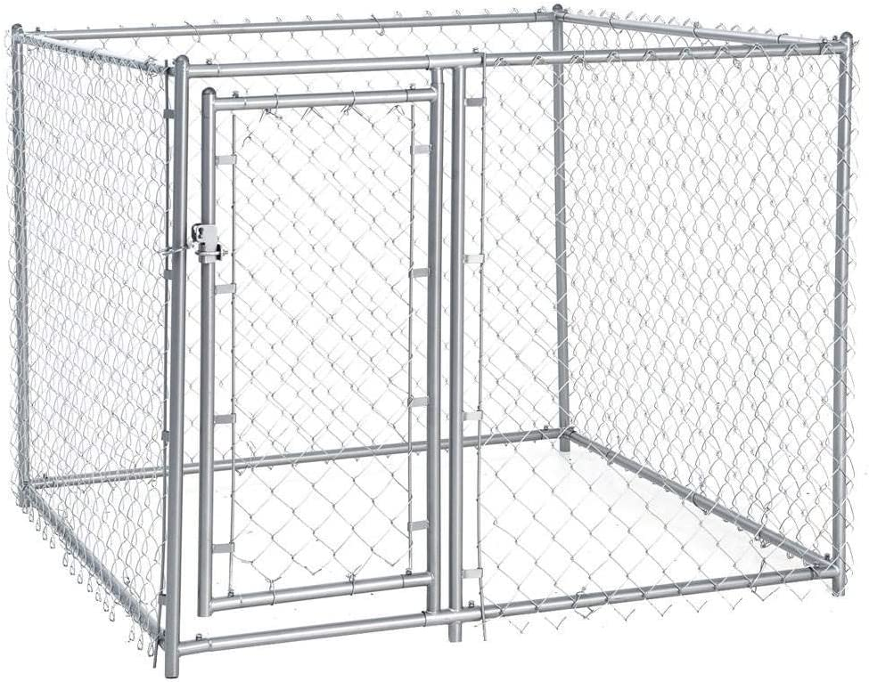 Lucky Dog Galvanized Chain Link Kennel Black Friday Deal