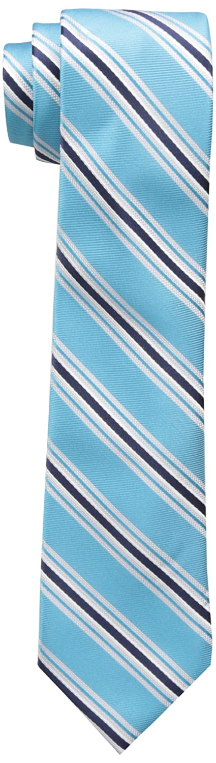 Wembley Boys' Wembley Boys Stripe Tie Aqua OS WE00110077