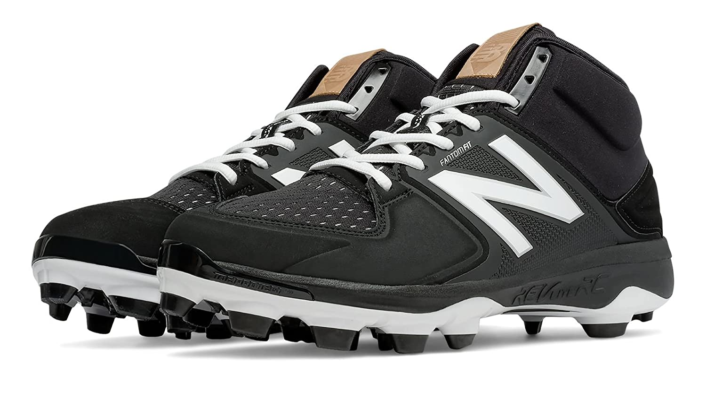 (ニューバランス) New Balance 靴シューズ メンズ野球 Mid-Cut 3000v3 TPU Molded Cleat Black with White ブラック ホワイト US 11 (29cm) B01J5BPS6U