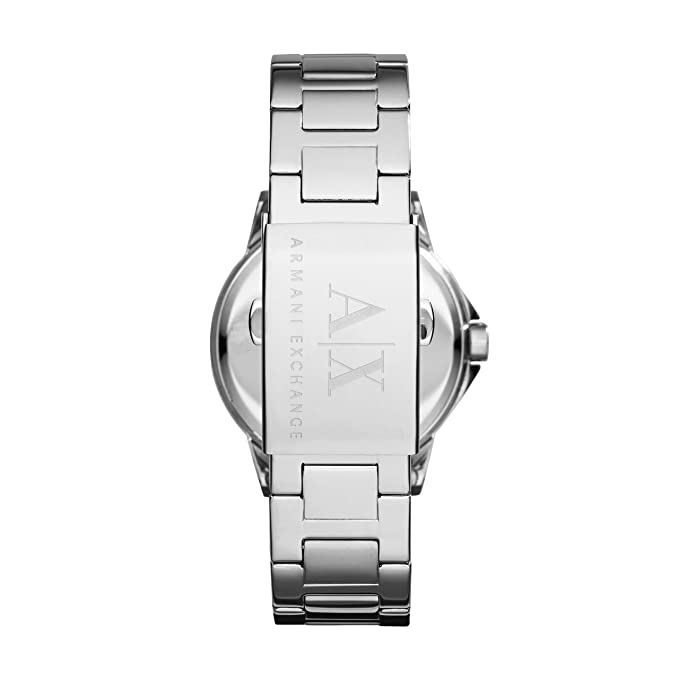 Amazon.com: Armani Exchange Womens AX4320 Silver Watch: Armani Exchange: Watches