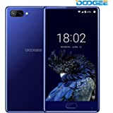 DOOGEE Mix, 4G Unlocked Smartphones Android 7.0-5.5 inch AMOLED HD Screen - MediaTek Helio P25 2.5GHz - 3380mAh Battery - 4GB RAM+64GB ROM - 8MP+16MP Dual Cameras - Unlocked Cell Phones, Blue