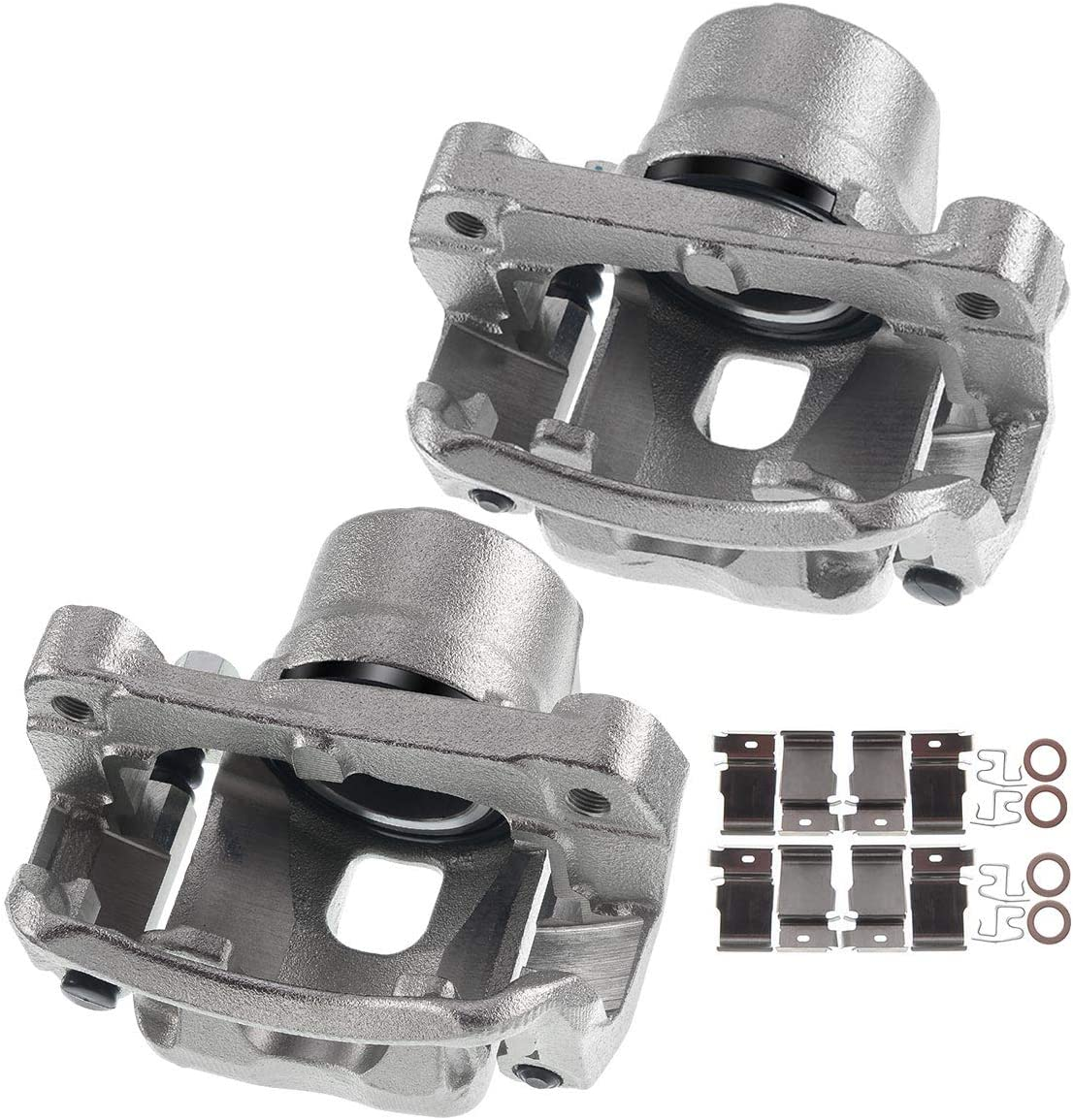 A-Premium Brake Caliper Assembly Compatible with Toyota Tacoma 1995-2004 Front Side 2-PC Set
