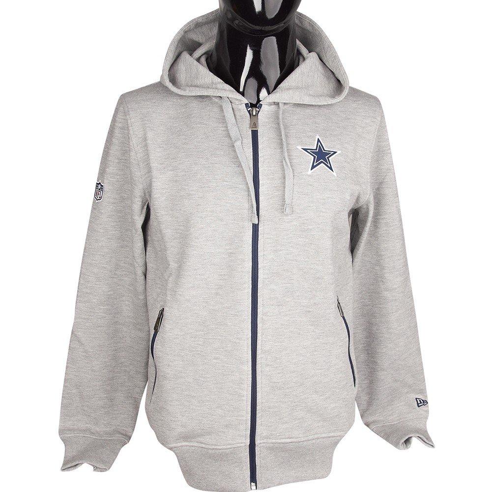 finest selection 734f1 5ed1c New Era Dallas Cowboys Team Full-Zip Hoodie NFL Sweatshirt ...