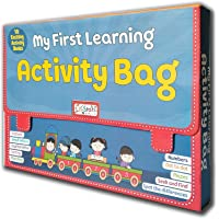 Early Learning My First Learning Bag - Set of 10 Exciting Books for kids (Activity)