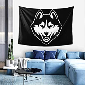 N/C Uconn Commemorative Meaning Personality Decoration Tapestry 60x40inch