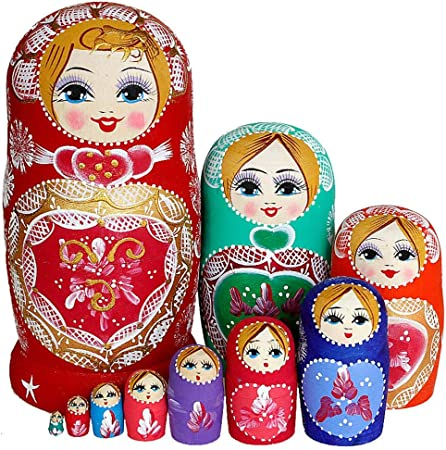 version française poupée russe