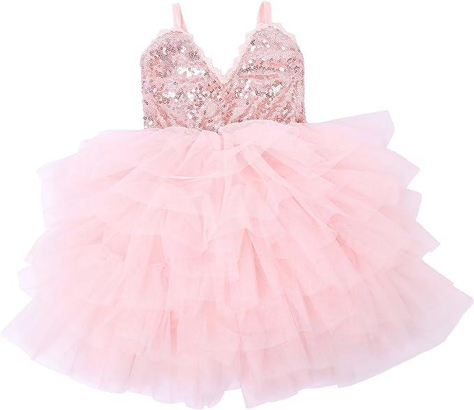 Amazon.com: Cilucu Vestido de fiesta para niñas y niños, con ...