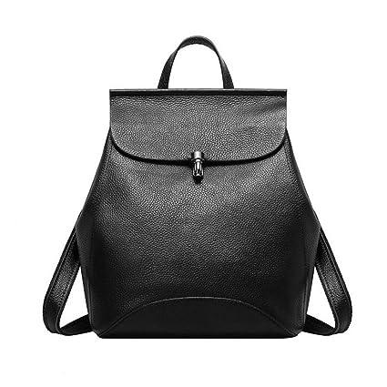 d68551b3a48b Amazon.com: Style Women Genuine Leather Backpack Designer Fashion ...