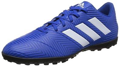 69de69ae3e8 adidas Men Football Shoes Nemeziz Tango 18.4 Messi Turf Futsal Training (EU  39 1