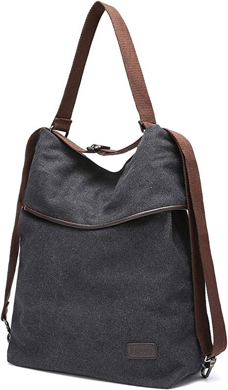 Women Vintage Ladies Large Canvas Handbag Travel Shoulder Bag Casual Tote Purse
