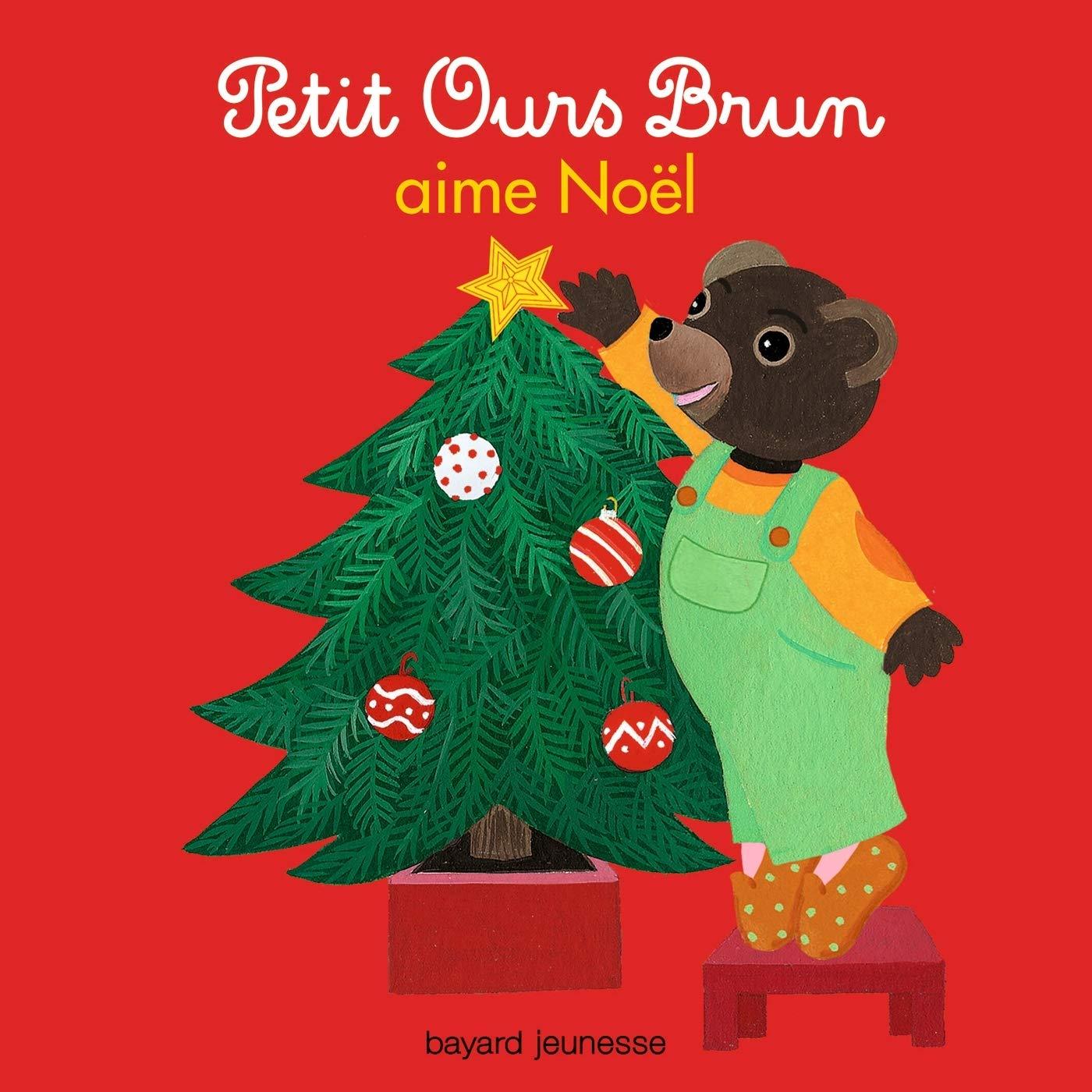 Joyeux Noel Petit Ours Brun.Petit Ours Brun Sapin De Noel Noel En France