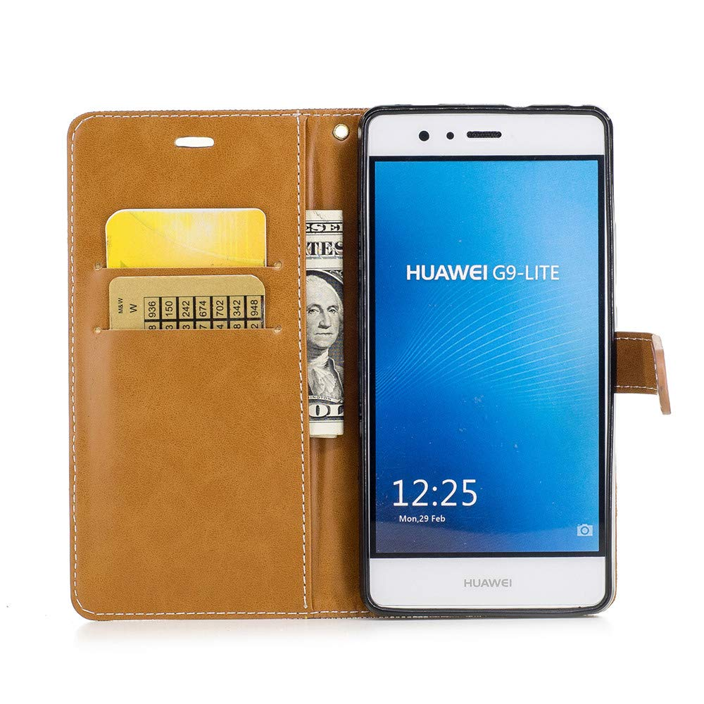 Amazon.com: JARNING Huawei Honor 6X Case Denim Leather ...
