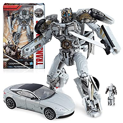 Transformers: The Last Knight Premier Edition Deluxe Cogman: Toys & Games
