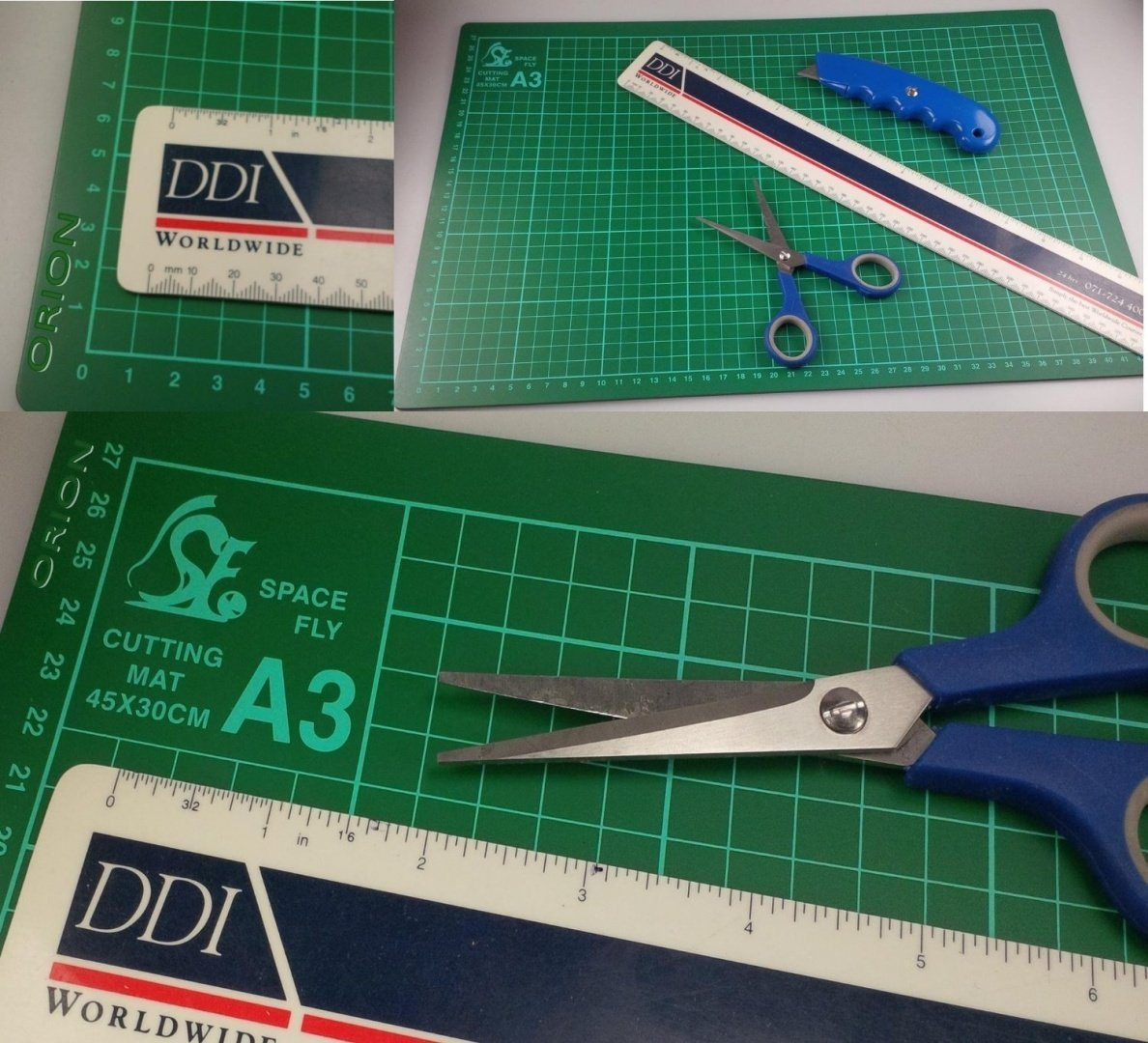 A3 Size Non Slip Cutting Mat Board Ideal for Crafts 30 cm X 45 cm (300mm x 450mm) OGB