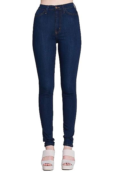 e54fb5cc7ed Vibrant Super Stretch High Rise Jeans