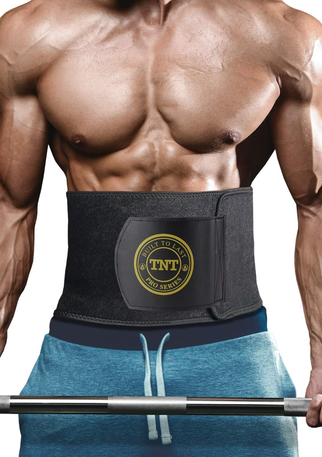 1e286a3bb2 TNT Pro Series Waist Trimmer Weight Loss Ab Belt - Premium Stomach Fat  Burner Wrap and