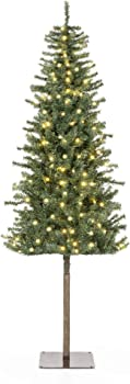 Best Choice Products Artificial Alpine Christmas Tree Holiday Decoration
