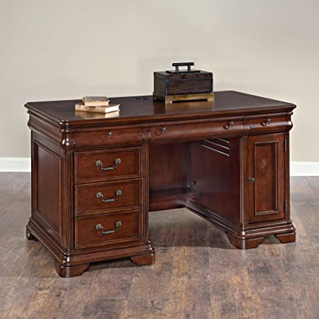 hammary home office small executive desk amazon co uk kitchen home rh amazon co uk small executive desks for office small executive desk for sale