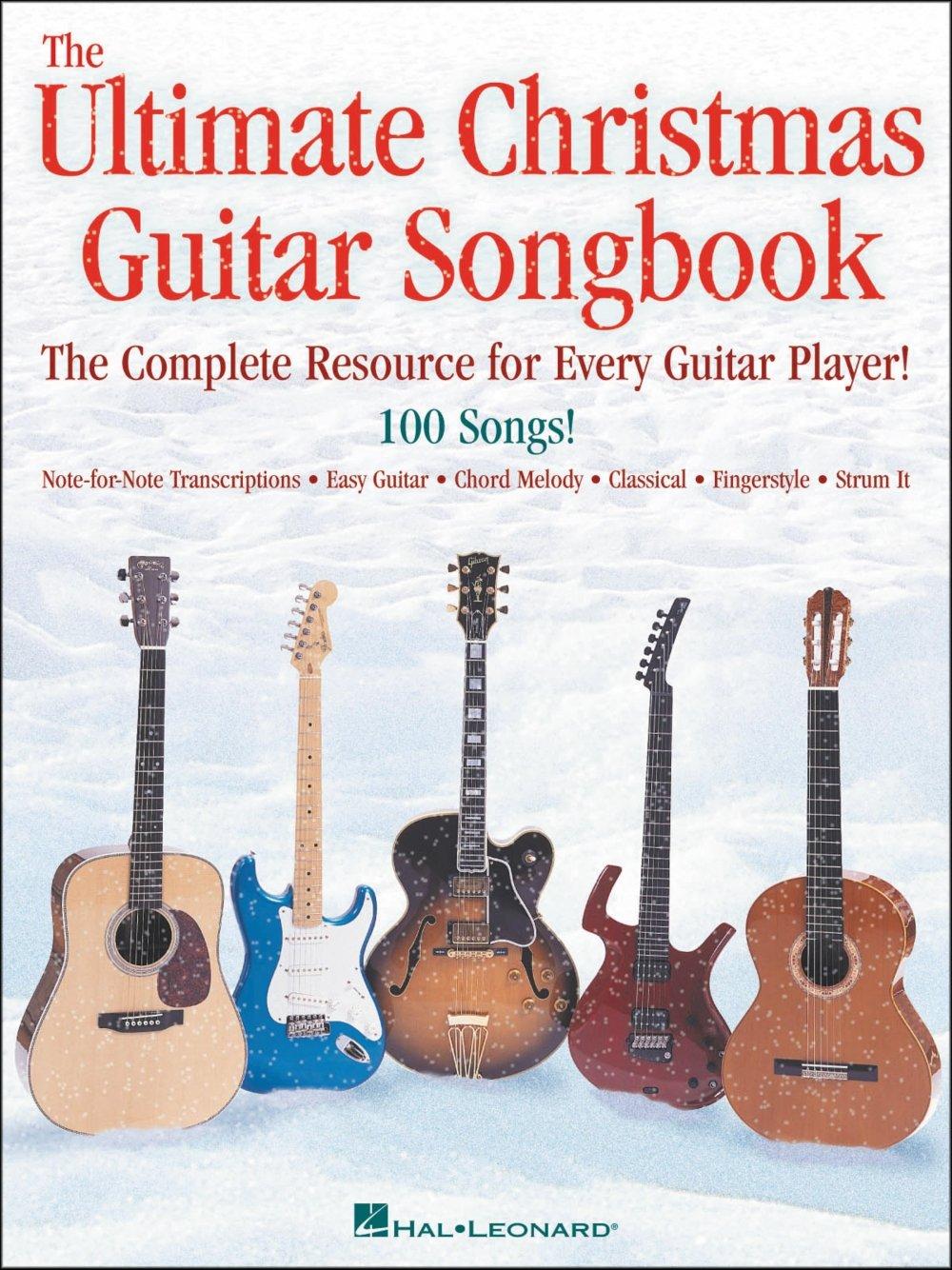 Amazon Hal Leonard The Ultimate Christmas Guitar Songbook Hal