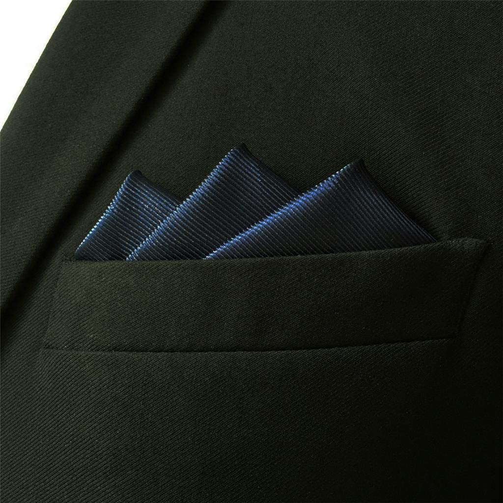 S/&W SHLAX/&WING Solid Color for Suit Jacket Matching Pocket Square Only