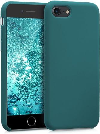 Kwmobile Hülle Kompatibel Mit Apple Iphone 7 8 Se 2020 Handyhülle Gummiert Handy Case In Petrol Matt Elektronik