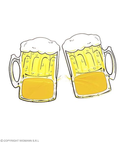 Gafas con forma de jarra de cerveza para Oktoberfest - Gafa con forma de jarra para oktoberfest.