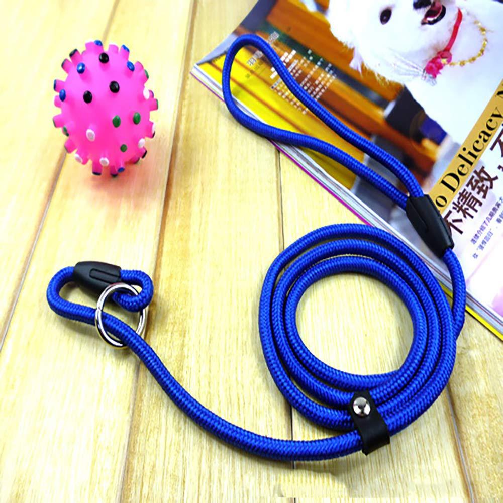 kleine Waren f/ür Haustiere NaiCasy P Pet Nylonseil Zugkette Einfache automatische Teleskop-gelegentliche Farbe