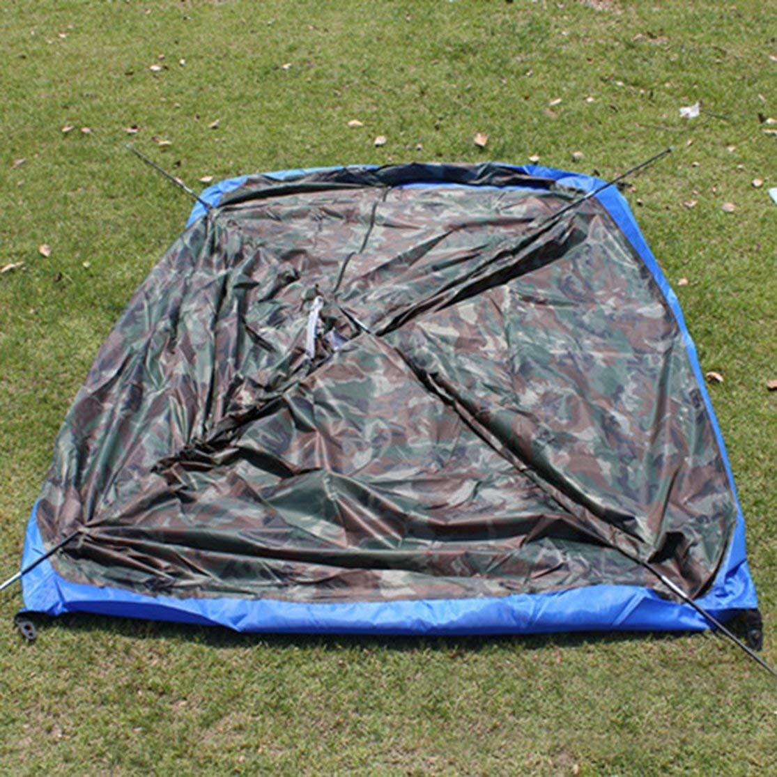 LouiseEvel215 Una Sola Capa 2 Personas Camuflaje Impermeable Camping Senderismo Carpa Ligero Playa al Aire Libre Viaje de Pesca Tienda de campa/ña