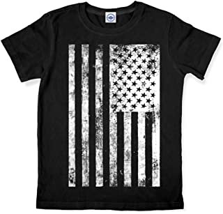 product image for Hank Player U.S.A. Vintage American Flag Kid's T-Shirt