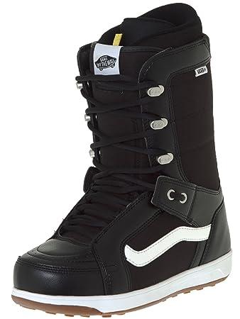 97636f64c1 Vans Hi Standard Snowboard Boots UK 11 Black White  Amazon.co.uk ...