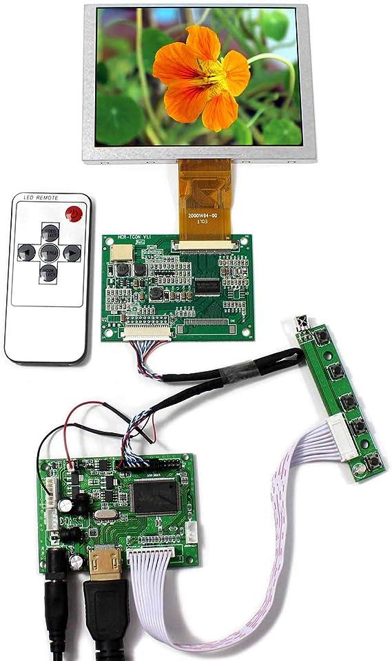 HDMI-LCD-Controller-Karte mit 5-Zoll-Touchscreen 640 x 480 ZJ050NA-08C