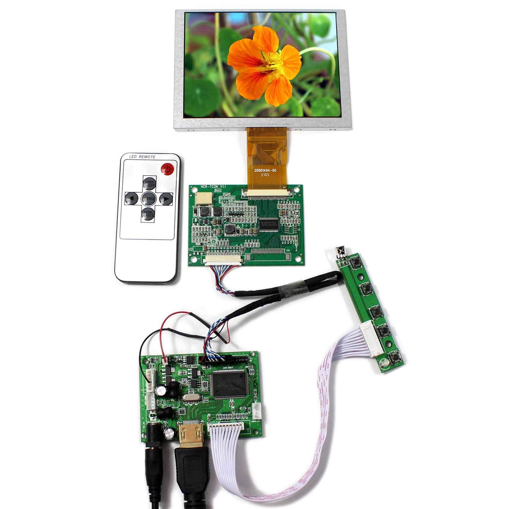 Controladora LCD HDMI VGA 5 640x480 VS-TY2660H-V1