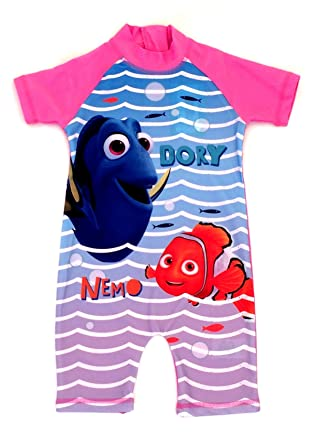 Girls Disney Dory Surfsuit Swimsuit Swimming Costume Ages 18