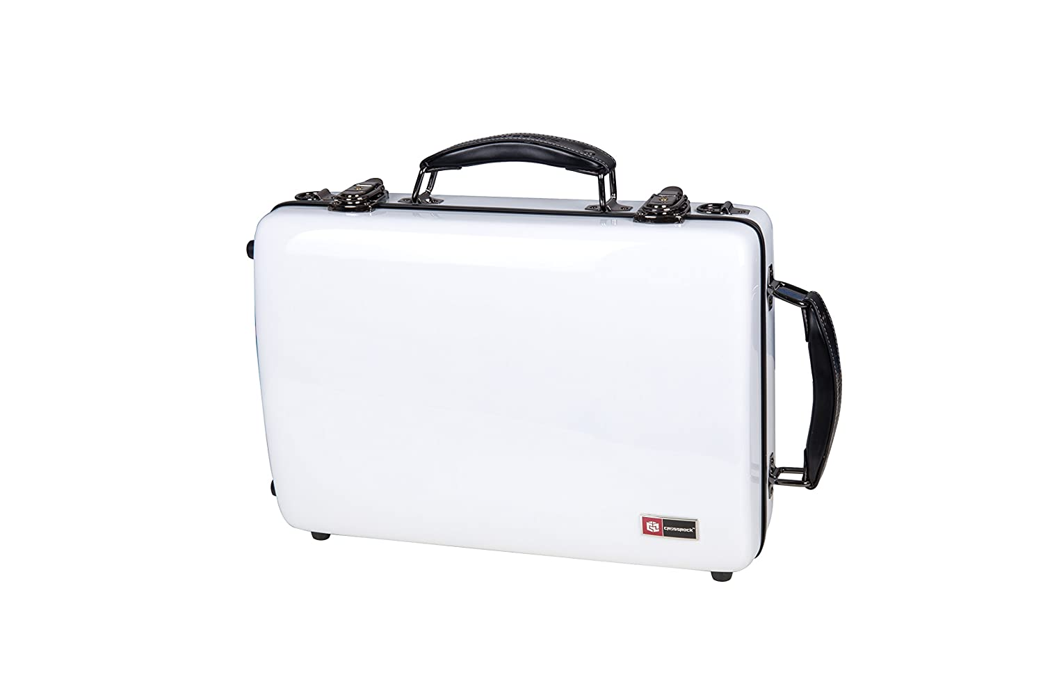 Crossrock CRA860CLBK Clarinet Case ABS Molded Hard Shell, Black Crossrock Case Company