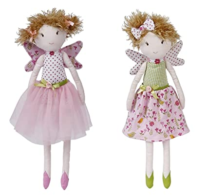 Maison Chic Garden Fairy Twins Fern and Flora - 2 Assorted