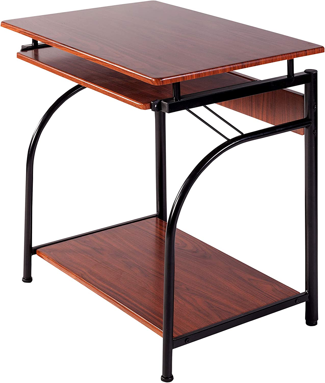 OneSpace Stanton Computer Desk, Cherry Red