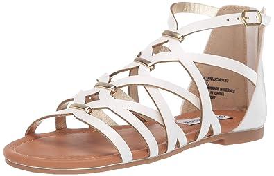edb6a8d05a5 Steve Madden Kids' Jciara Flat Sandal