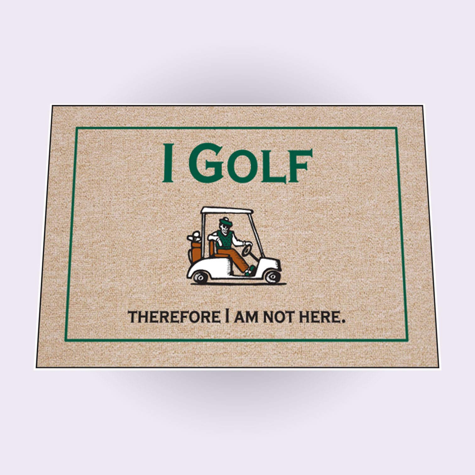 High Cotton I Golf Therefore Doormat