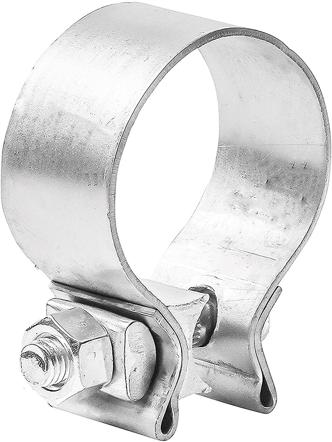 TOTALFLOW TF-200SS 409 Stainless Steel Single Bolt Exhaust Muffler Clamp Band 2'