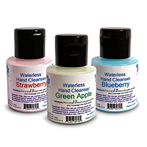 Waterless (No Water Needed for Rinsing) Hand Cleanser (Variety Pack)