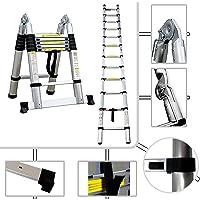 Tabouret Échelle Multifonction, Escabeau - Standards/Certifications: EN131 - Charge maximale: 150 kg - 3,8 mètre(s), Barre stabilisatrice, EN 131