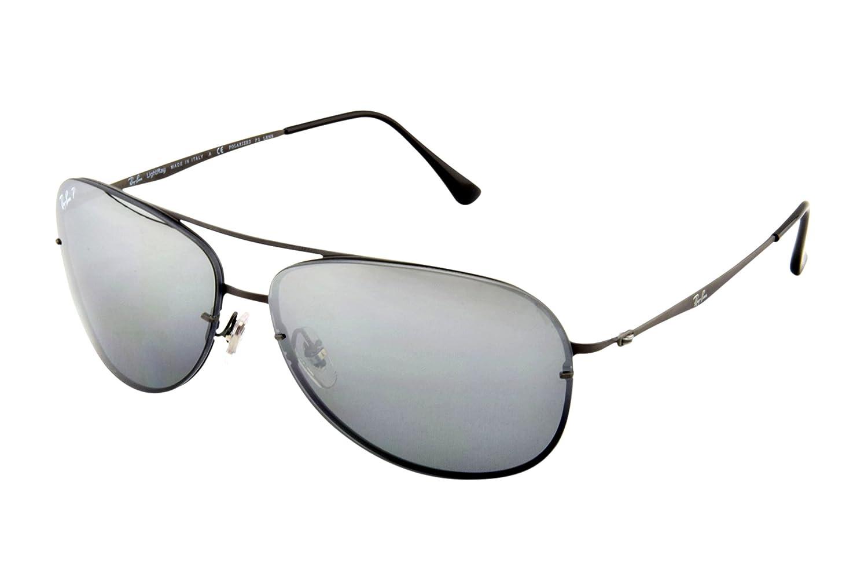Amazon.com: Ray-Ban – Gafas de sol Luz Ray (rb8052) Gunmetal ...