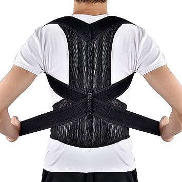 HailiCare Corrector de Postura para Espalda Transpirable y ajustable Soporte de Espalda para Corregir Postura Hombros