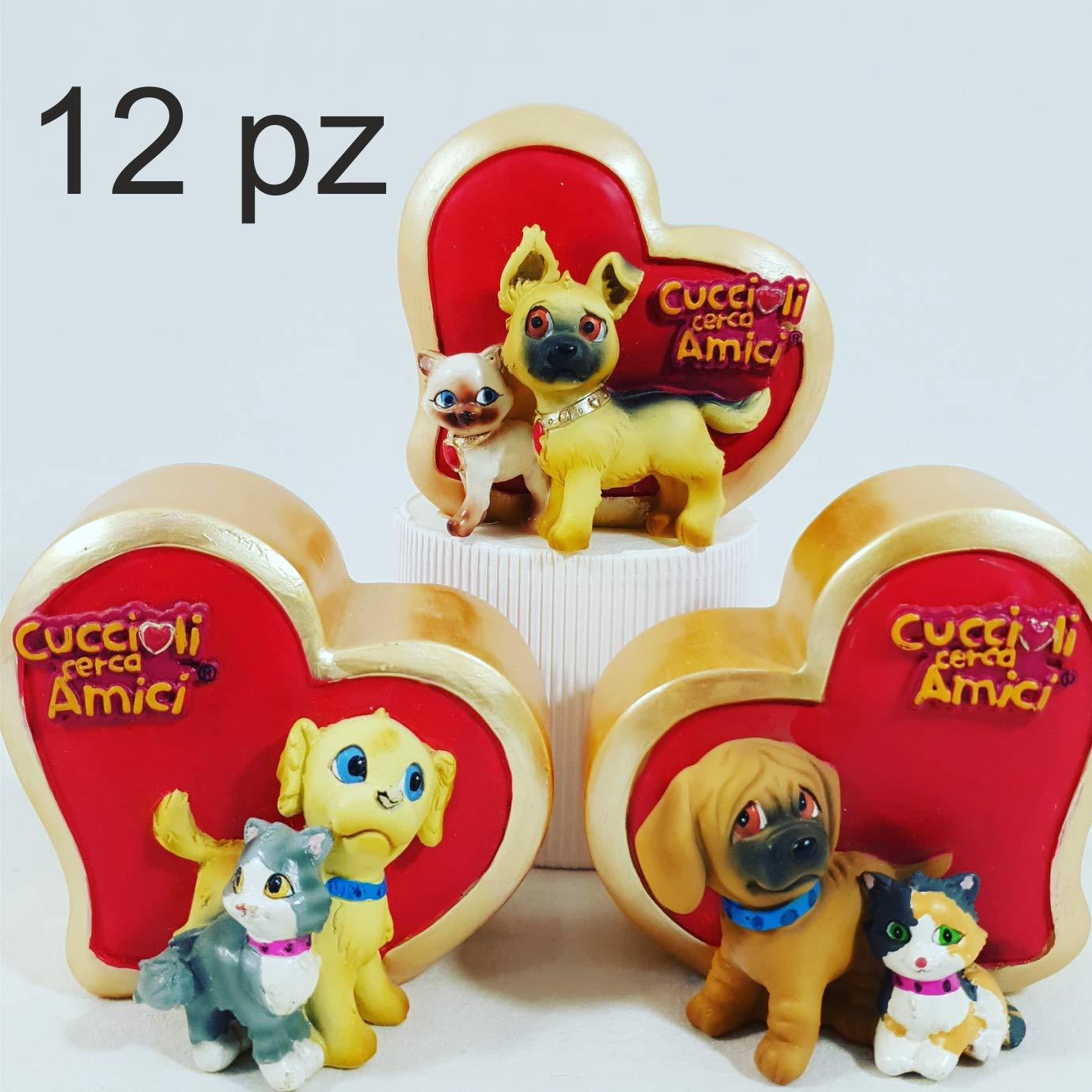 12 Salvadanaio Animali Regalino Gadget Festa Compleanno Bambini Per