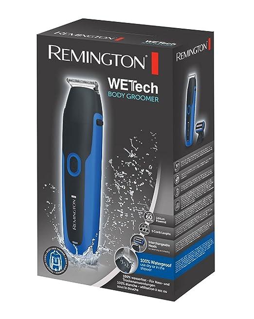 Remington BHT6255 - Afeitadora corporal recargable, cuchillas de acero: Amazon.es: Salud y cuidado personal