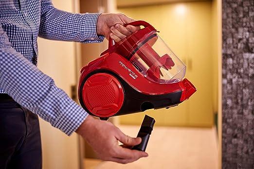 Rowenta - Aspiradora ciclónica compacta sin Bolsa Compact Power Cyclonic Rojo: Amazon.es: Hogar