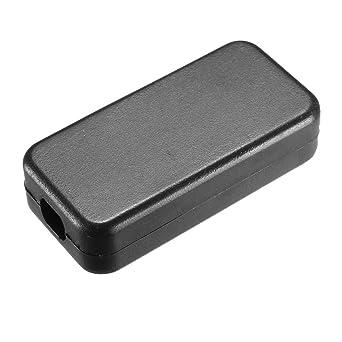 Sourcingmap Caja de derivación electrónica de plástico, 40 x 20 x 11 mm, color negro: Amazon.es: Industria, empresas y ciencia