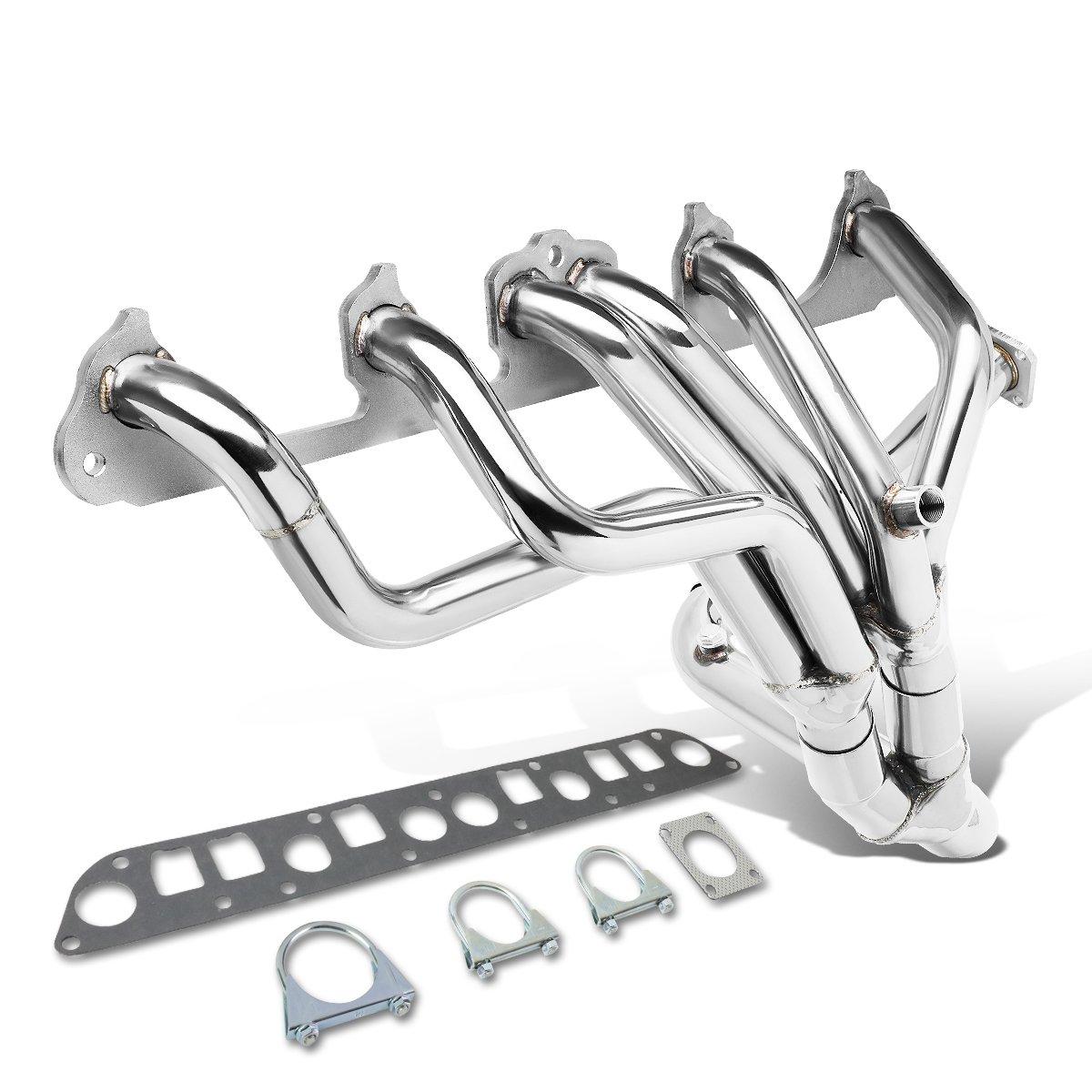 DNA Motoring HDS-T88-JCH87+Y Tri-Y Tubular Manifold Exhaust Header 87-93 Jeep Wagoneer